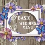 5a BASIC WEDDING MENU